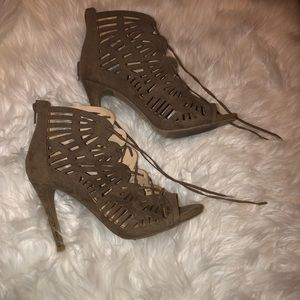CHARLOTTE RUSSE ALL THAT NUDE HEELS✨✨✨